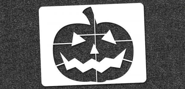 Jack-O-Lantern - Mini Stencil