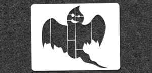 Ghost - Mini Stencil