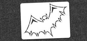 Bat - Mini Stencil