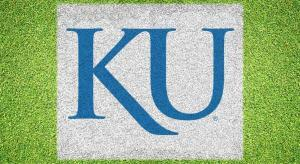 "University of Kansas ""KU"" - Lawn Stencil Kit"