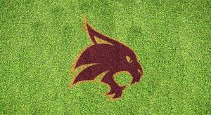 Texas State Bobcats - Lawn Stencil Kit