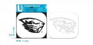 Oregon State Beaver - Curbee Stencil