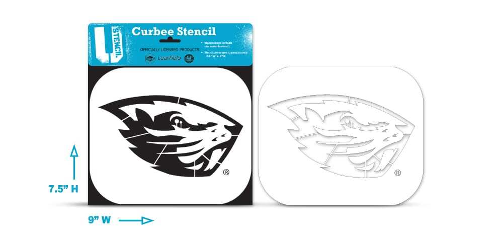 Oregon State Beaver – Curbee Stencil