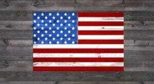 American Flag - Stencil Kit