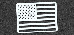 American Flag - Mini Stencil