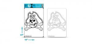 East Carolina Pirate Multi-Purpose Stencil