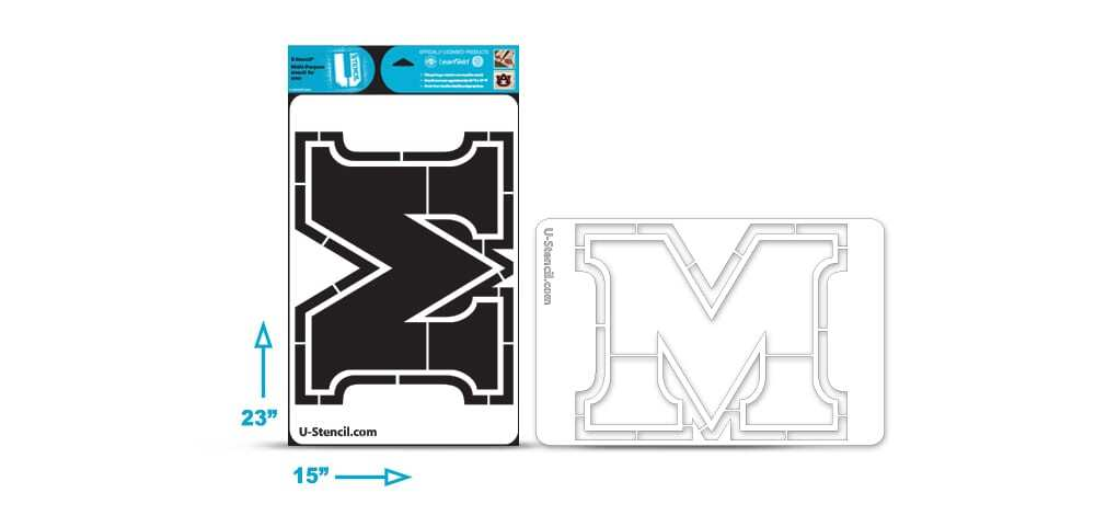"Marshall ""M"" Multi-Purpose Stencil"