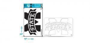 "Mississippi State ""M"" - Multi-Purpose Stencil"