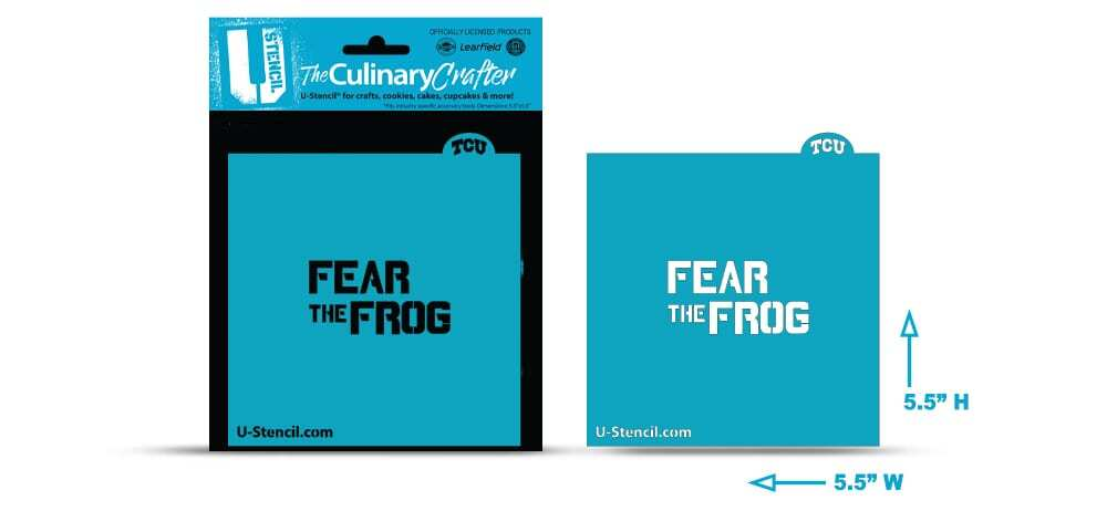 "Texas Christian University ""Fear the Frog"" – Culinary Crafter"