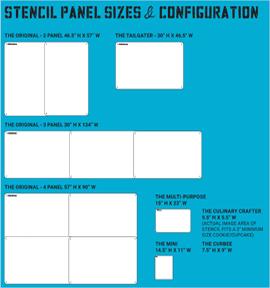 Stencil Configuration & Size Chart