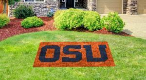"oregon state ""OSU"" lawn stencil kit"