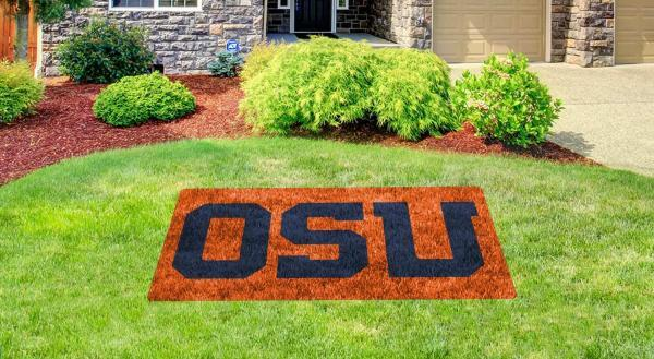 "oregon state ""OSU"" lawn stencil kit"