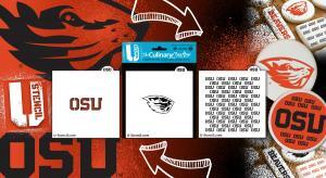 Officially Licensed Oregon State Culinary Crafter stencils
