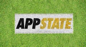 """Appalachian """"APPSTATE"""" Lawn Stencil Kit"""