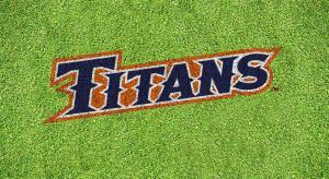 "Cal State Fullerton ""TITANS"" Lawn Stencil Kit"