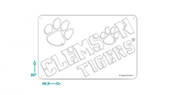Clemson Tigers Tailgater Stencils