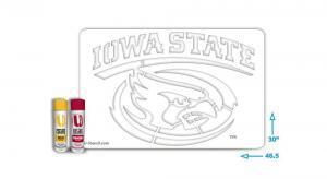 Iowa State Cyclones Stencil kit
