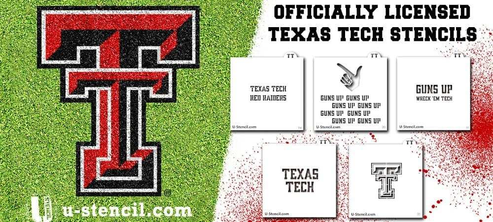 Texas Tech Culinary Crafter stencil