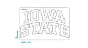 Iowa State Stencil