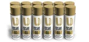 Old Gold Spray Paint 12-Pack