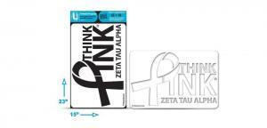 AWZTA-501 Think Pink Stencil