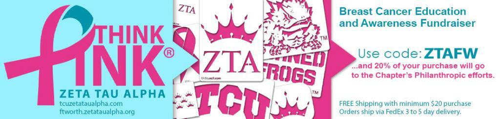 ZTA Fundraiser - Breast Cancer Awareness