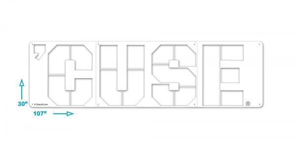 Syracuse CUSE Stencil
