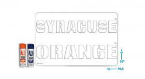 Syracues Orange Stencil kit